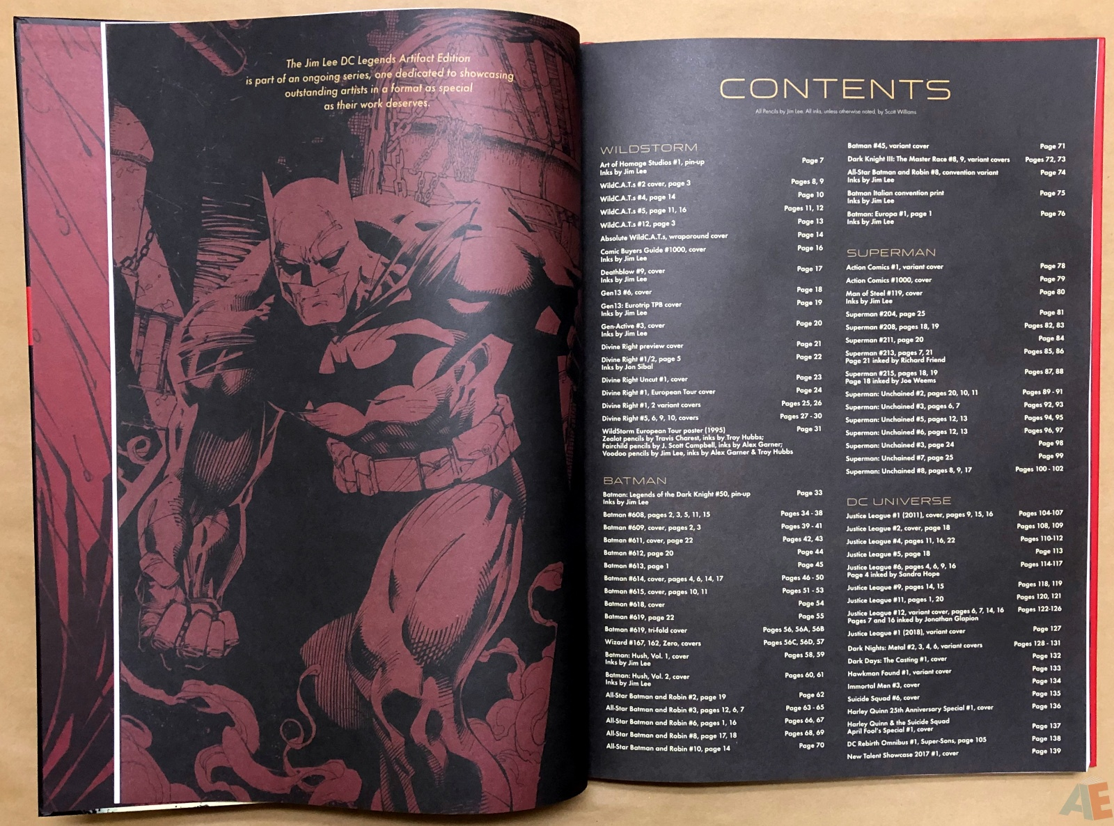 Jim Lee DC Legends Artifact Edition 6