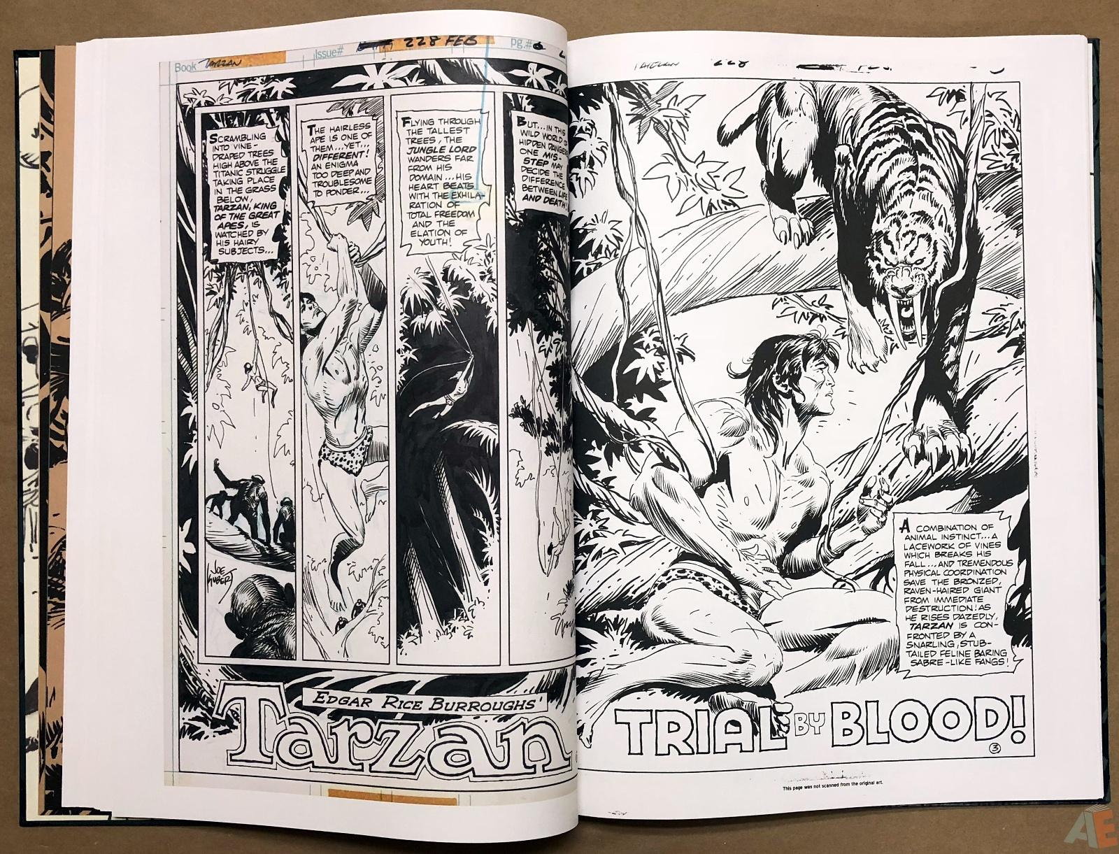 Joe Kubert's Tarzan and the Lion Man Artist's Edition 22