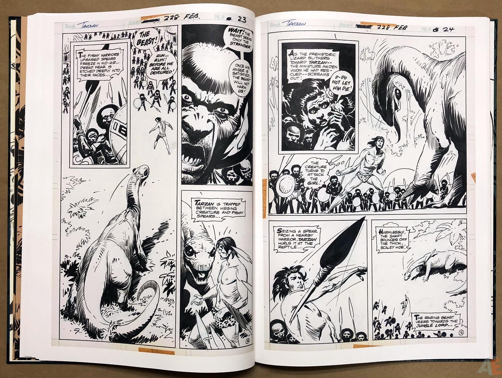 Joe Kubert's Tarzan and the Lion Man Artist's Edition 24