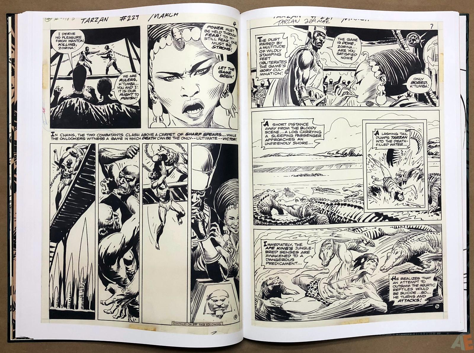 Joe Kubert's Tarzan and the Lion Man Artist's Edition 26