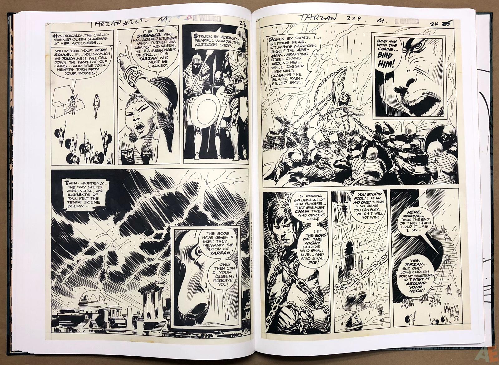 Joe Kubert's Tarzan and the Lion Man Artist's Edition 28