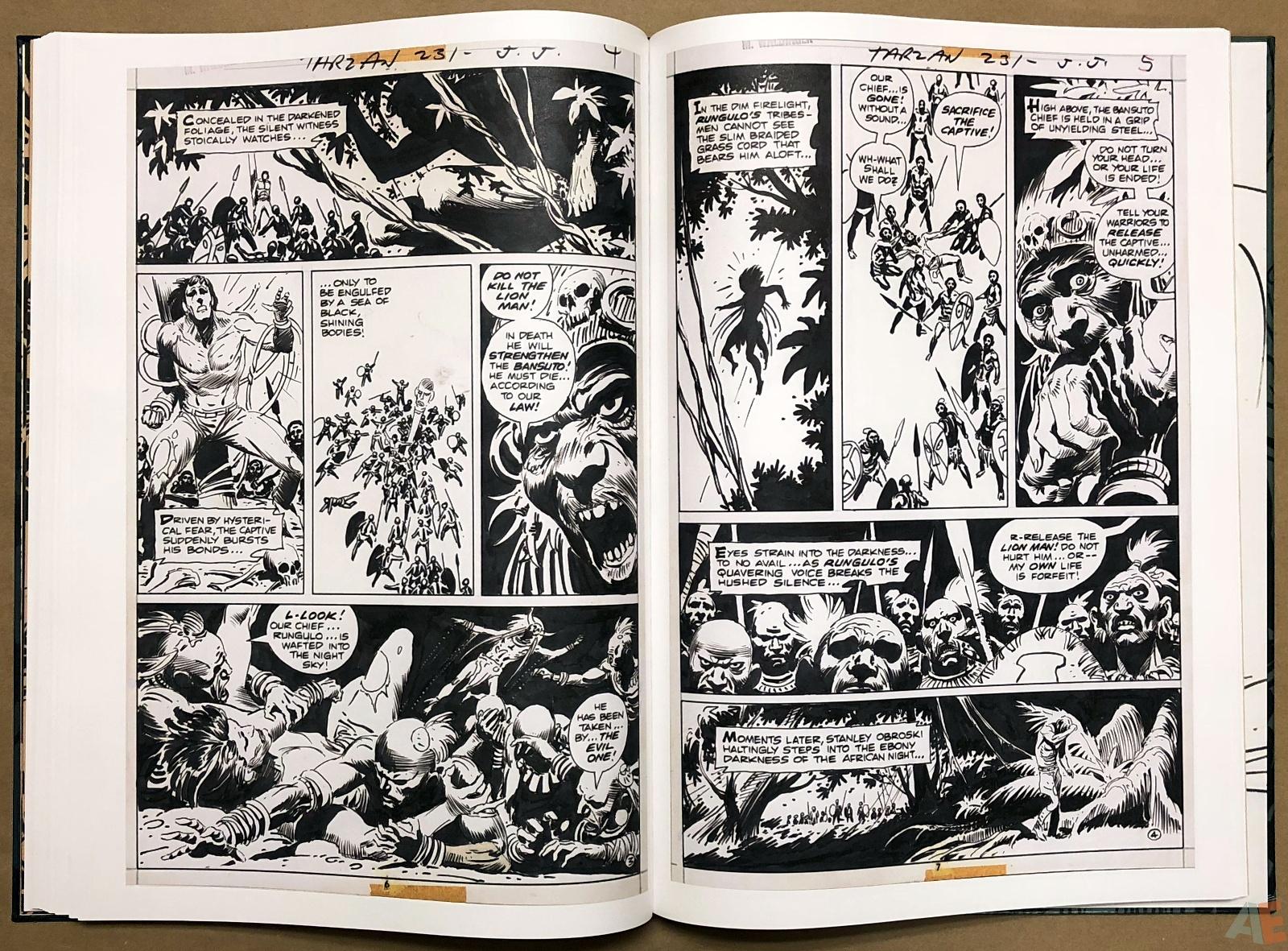 Joe Kubert's Tarzan and the Lion Man Artist's Edition 30