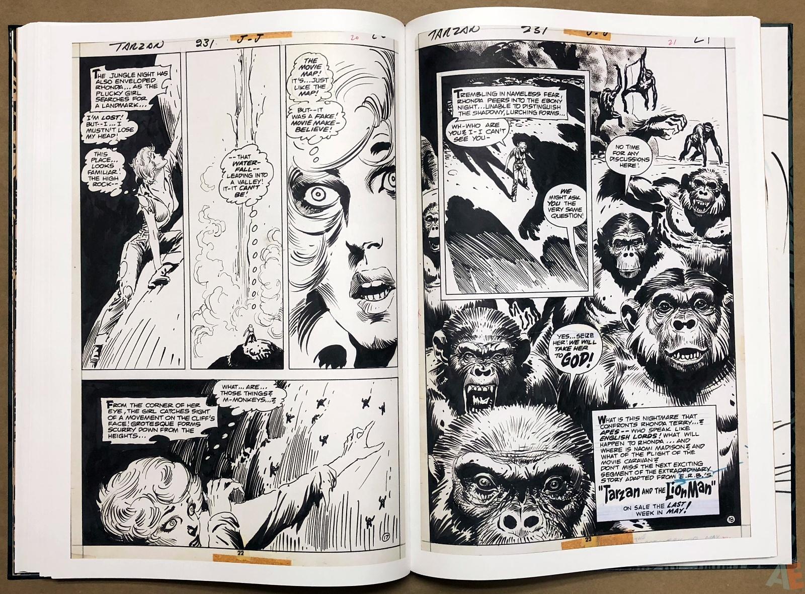 Joe Kubert's Tarzan and the Lion Man Artist's Edition 34