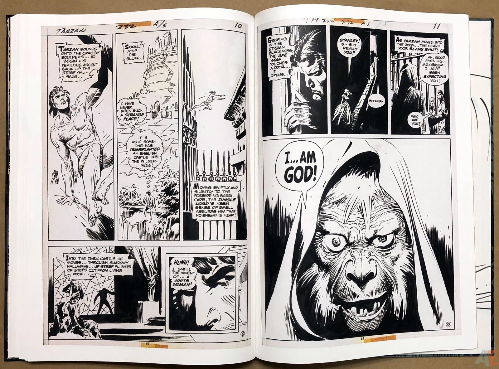Joe Kubert's Tarzan and the Lion Man Artist's Edition 36