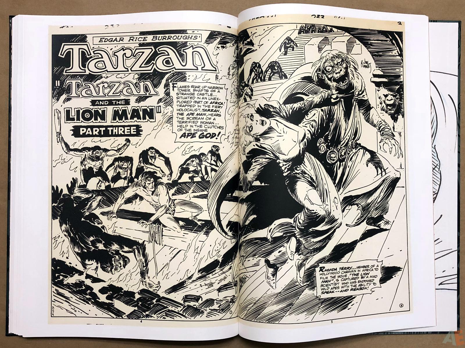 Joe Kubert's Tarzan and the Lion Man Artist's Edition 38