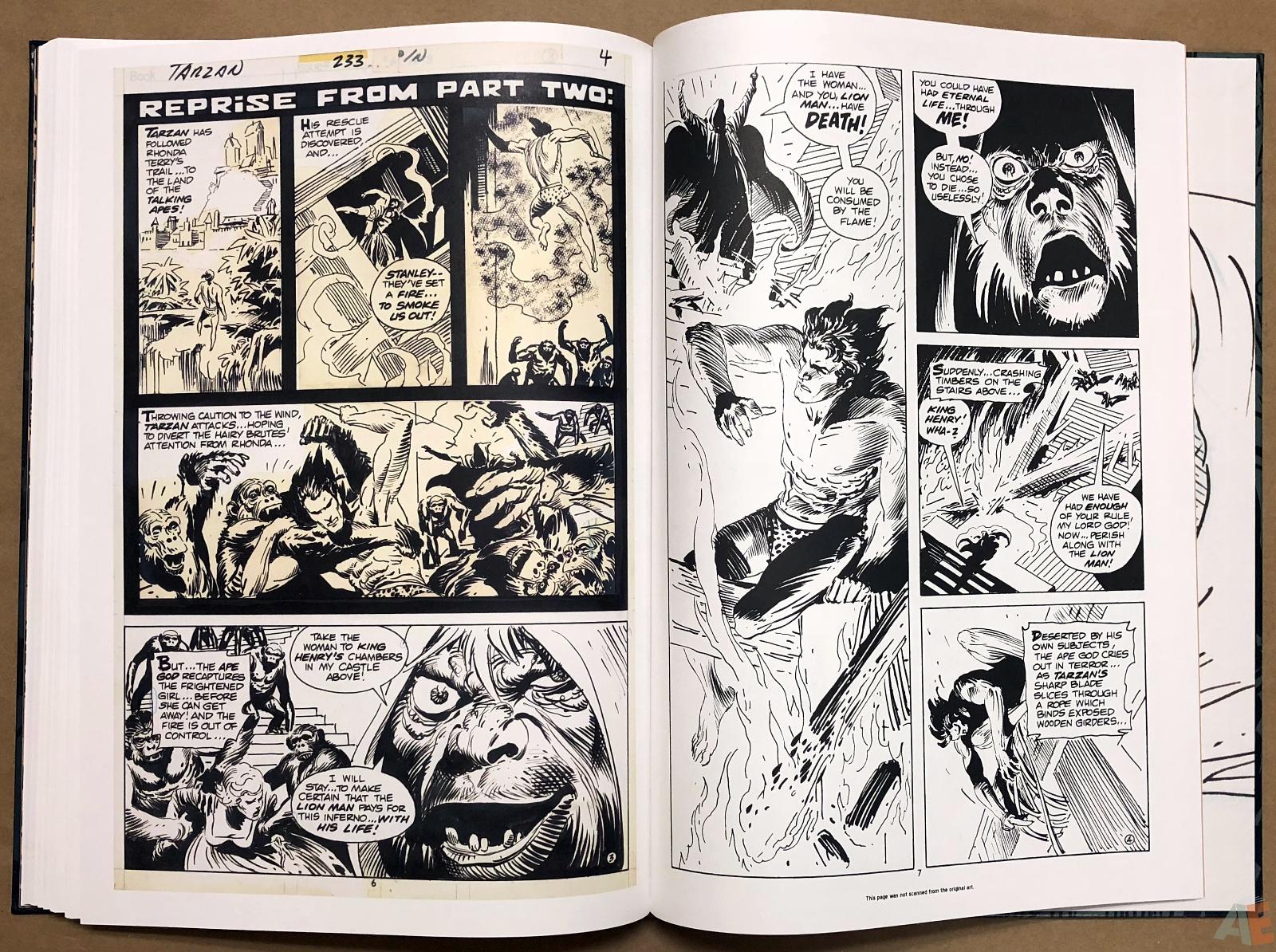 Joe Kubert's Tarzan and the Lion Man Artist's Edition 40
