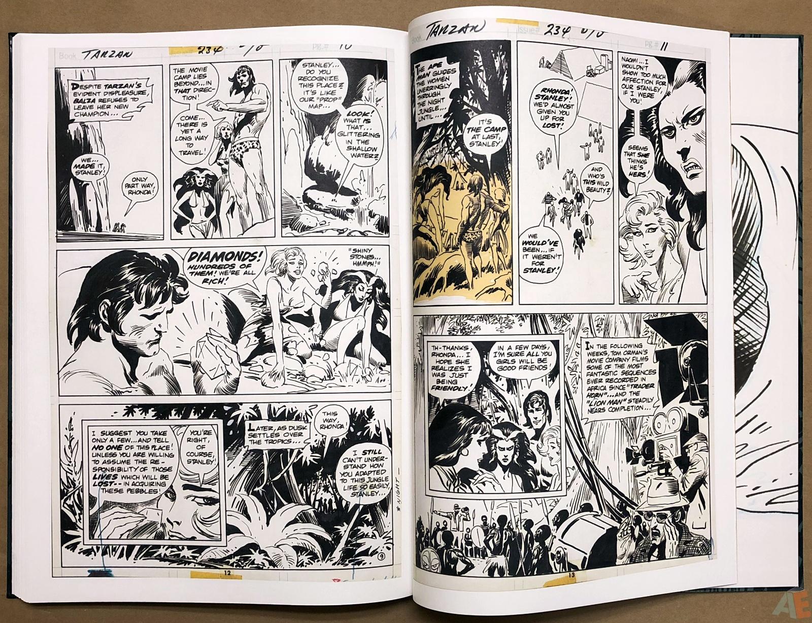 Joe Kubert's Tarzan and the Lion Man Artist's Edition 44