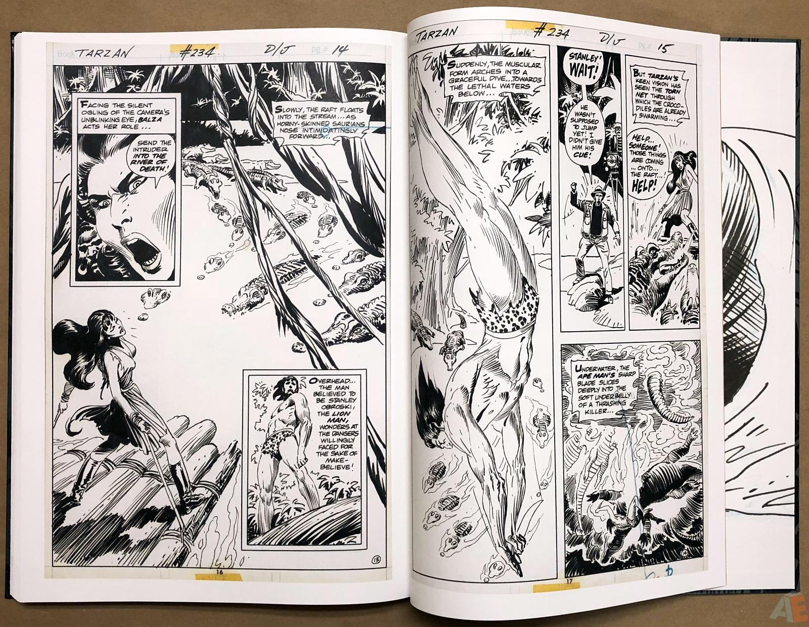 Joe Kubert's Tarzan and the Lion Man Artist's Edition 46