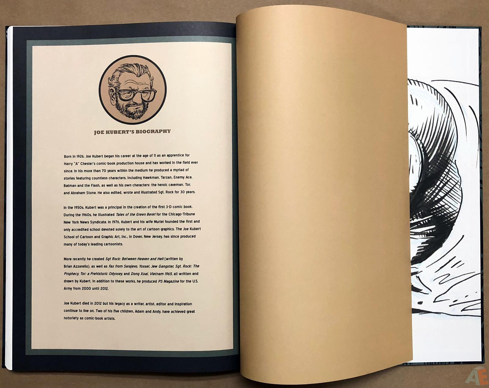 Joe Kubert's Tarzan and the Lion Man Artist's Edition 48