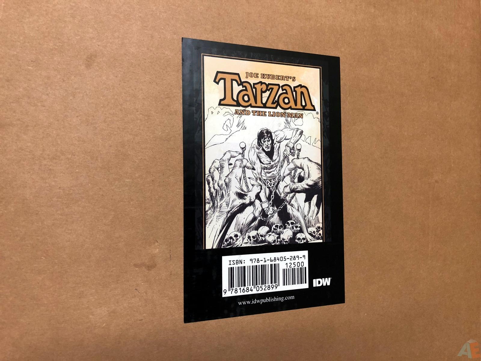 Joe Kubert's Tarzan and the Lion Man Artist's Edition 50