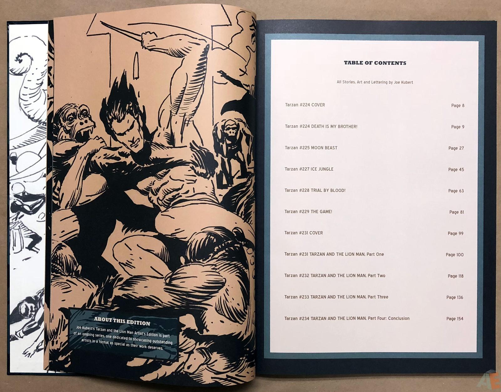 Joe Kubert's Tarzan and the Lion Man Artist's Edition 8