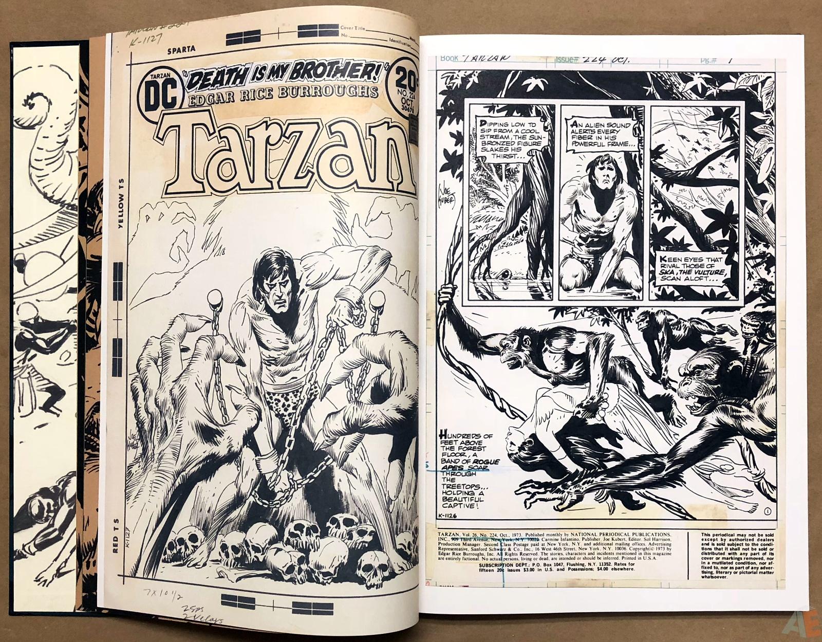 Joe Kubert's Tarzan and the Lion Man Artist's Edition 10