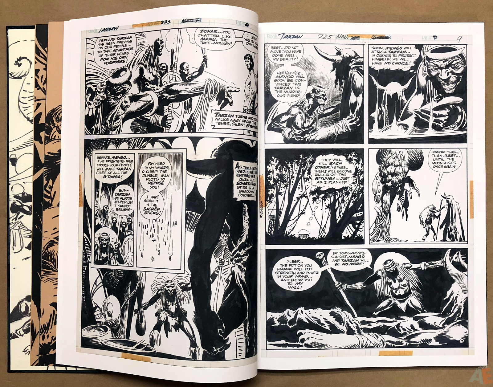 Joe Kubert's Tarzan and the Lion Man Artist's Edition 16