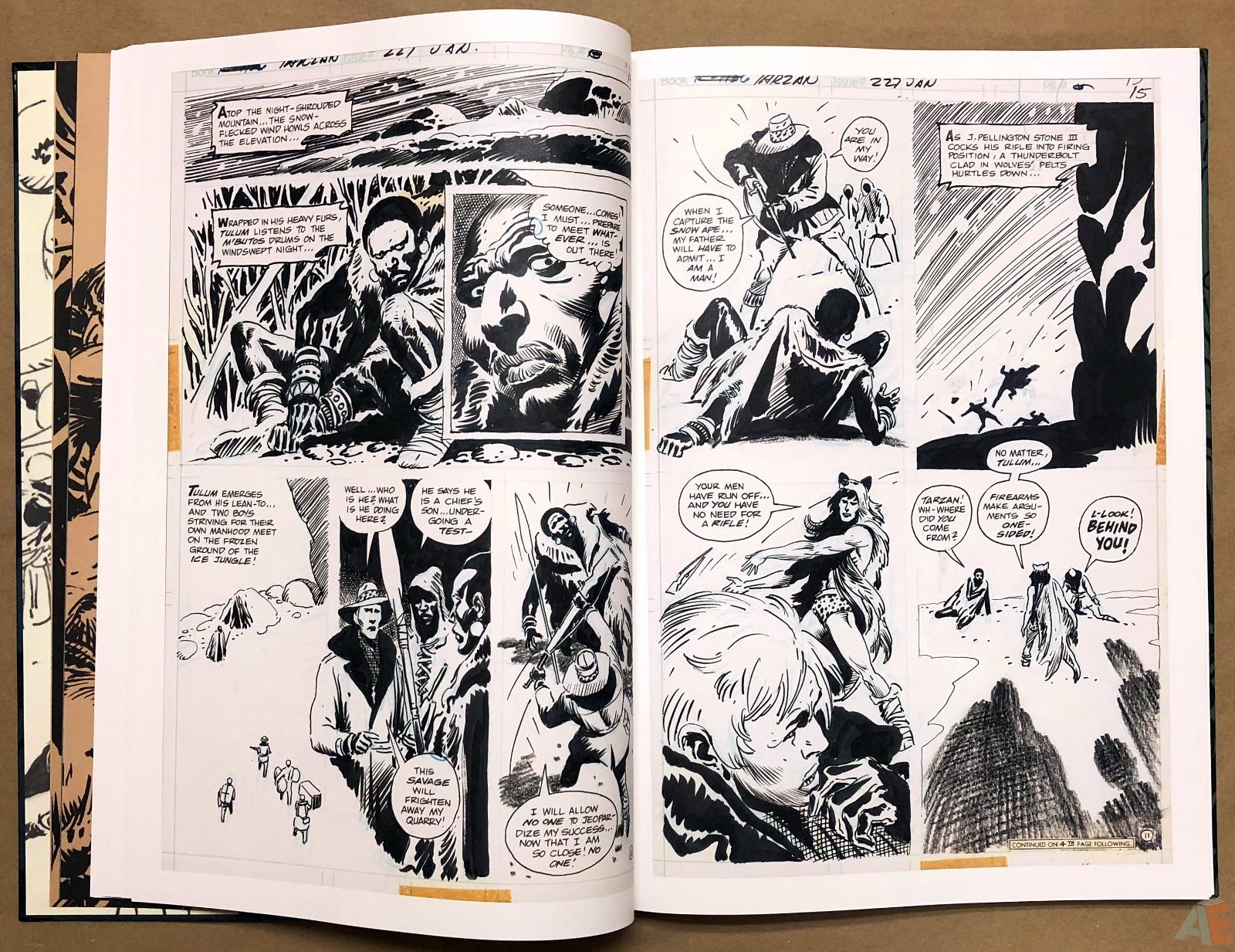 Joe Kubert's Tarzan and the Lion Man Artist's Edition 20
