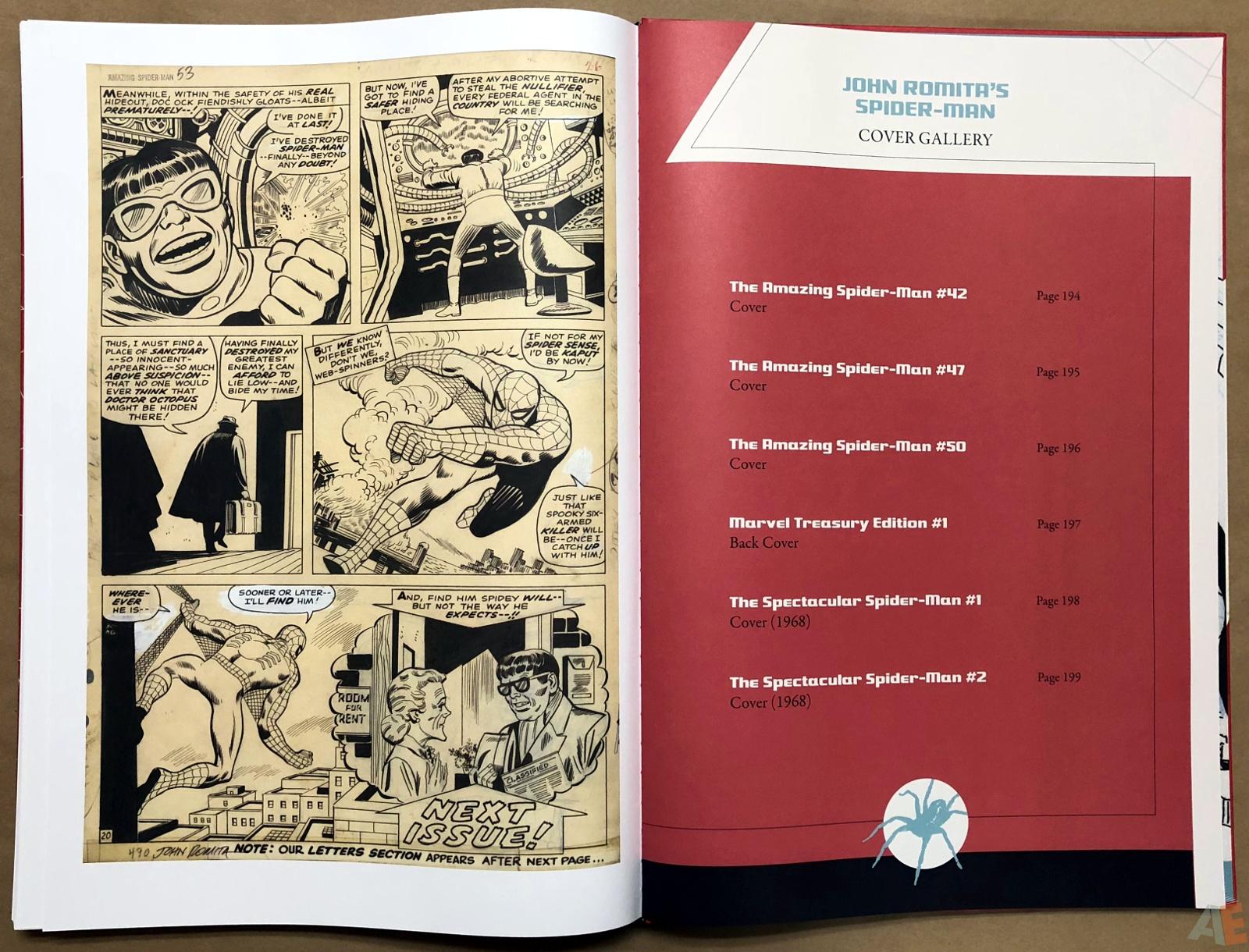 John Romita's The Amazing Spider-Man Artifact Edition