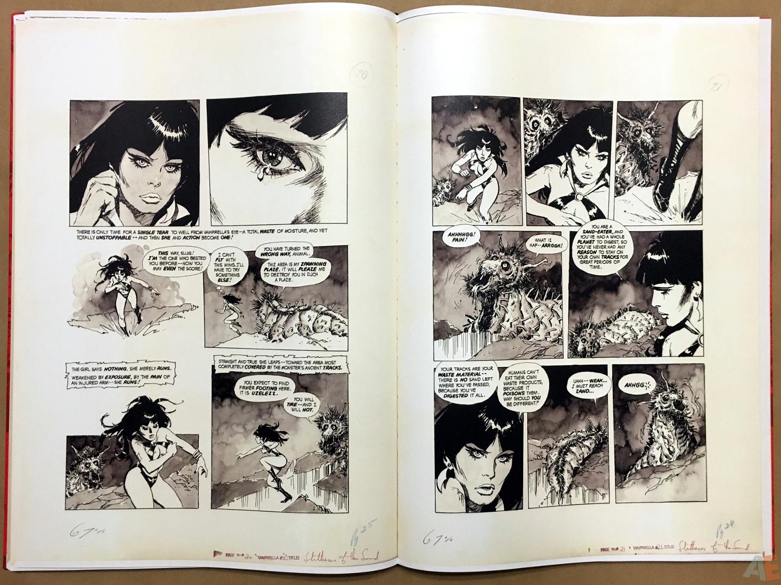 Jose Gonzalez's Vampirella Art Edition Vol 1 24
