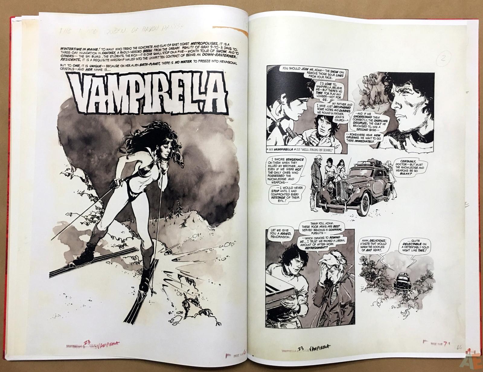 Jose Gonzalez's Vampirella Art Edition Vol 1 26