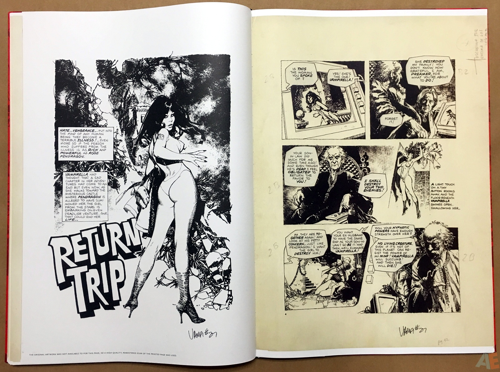 Jose Gonzalez's Vampirella Art Edition Vol 1 32
