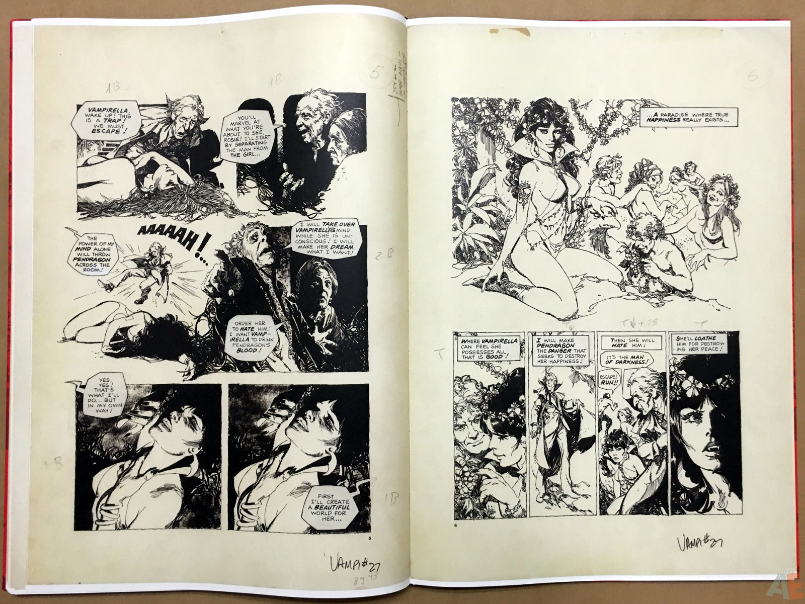 Jose Gonzalez's Vampirella Art Edition Vol 1 34