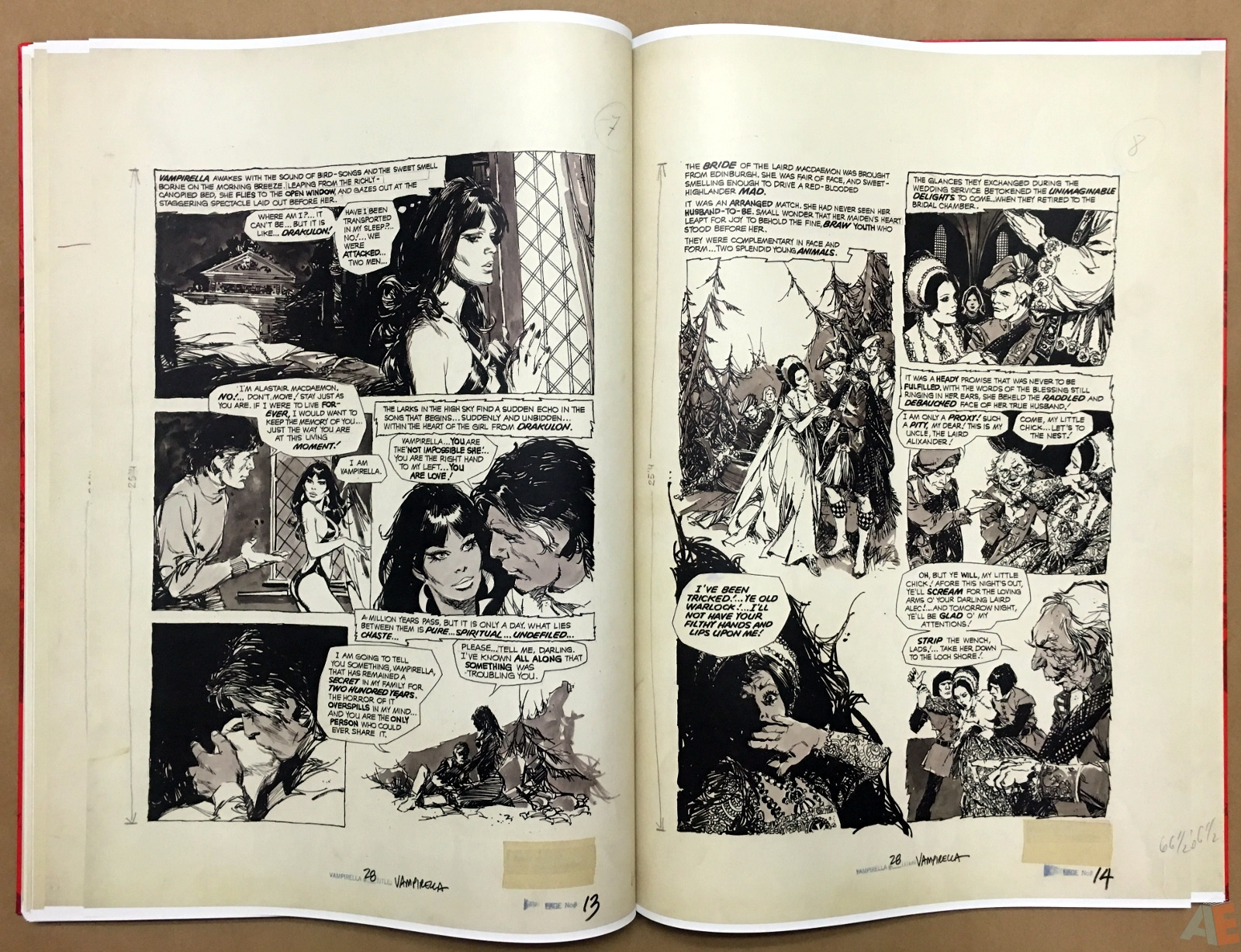 Jose Gonzalez's Vampirella Art Edition Vol 1 36