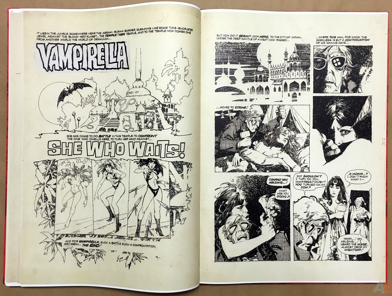 Jose Gonzalez's Vampirella Art Edition Vol 1 38