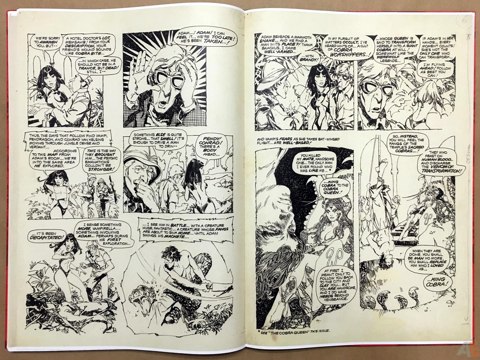 Jose Gonzalez's Vampirella Art Edition Vol 1 40