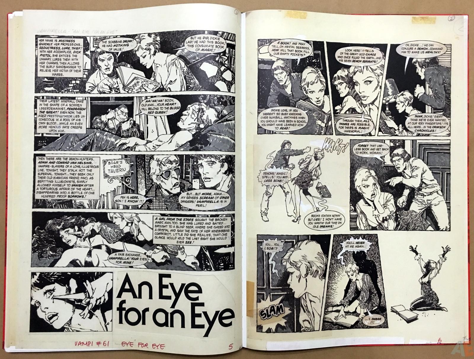 Jose Gonzalez's Vampirella Art Edition Vol 1 42