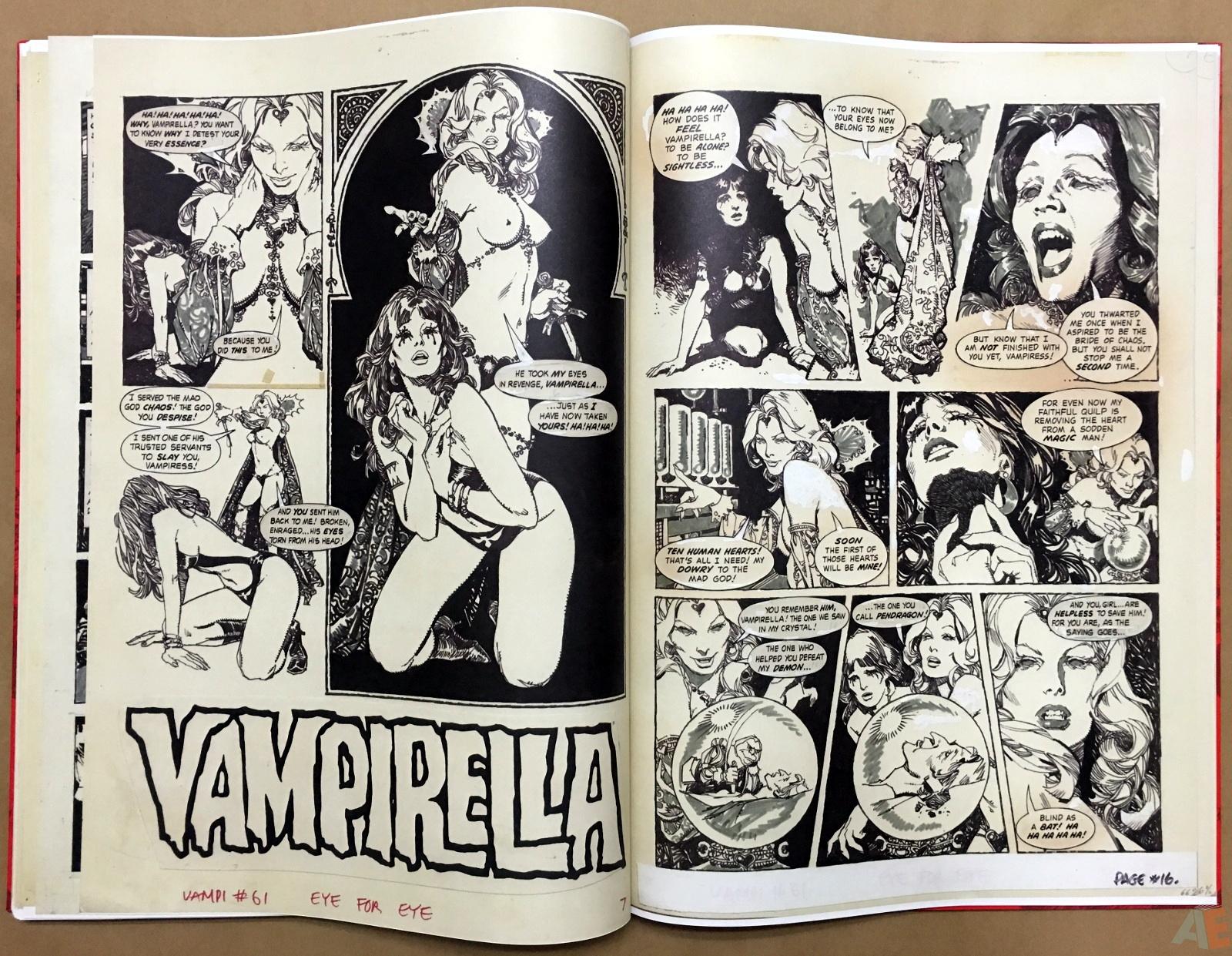 Jose Gonzalez's Vampirella Art Edition Vol 1 44