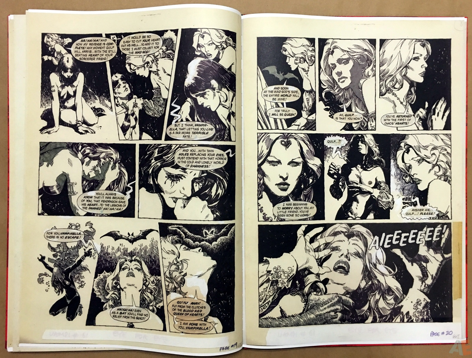 Jose Gonzalez's Vampirella Art Edition Vol 1 46