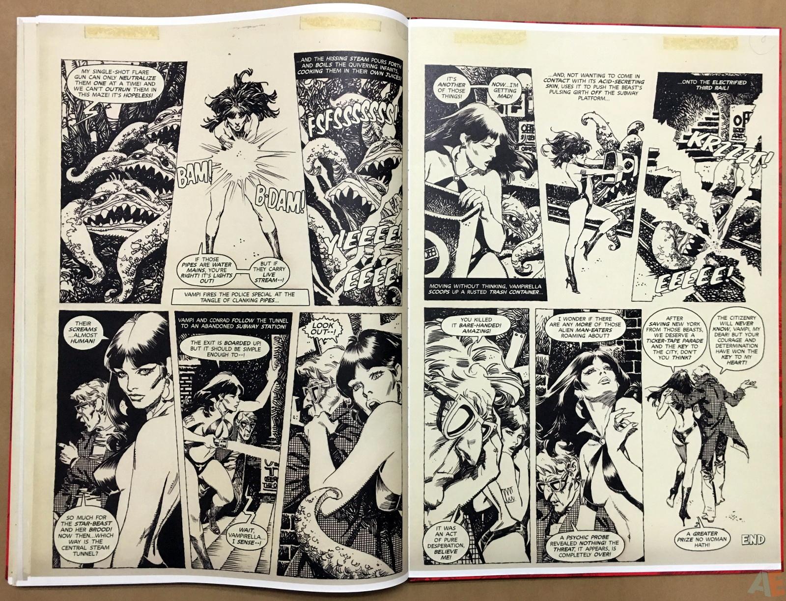Jose Gonzalez's Vampirella Art Edition Vol 1 50