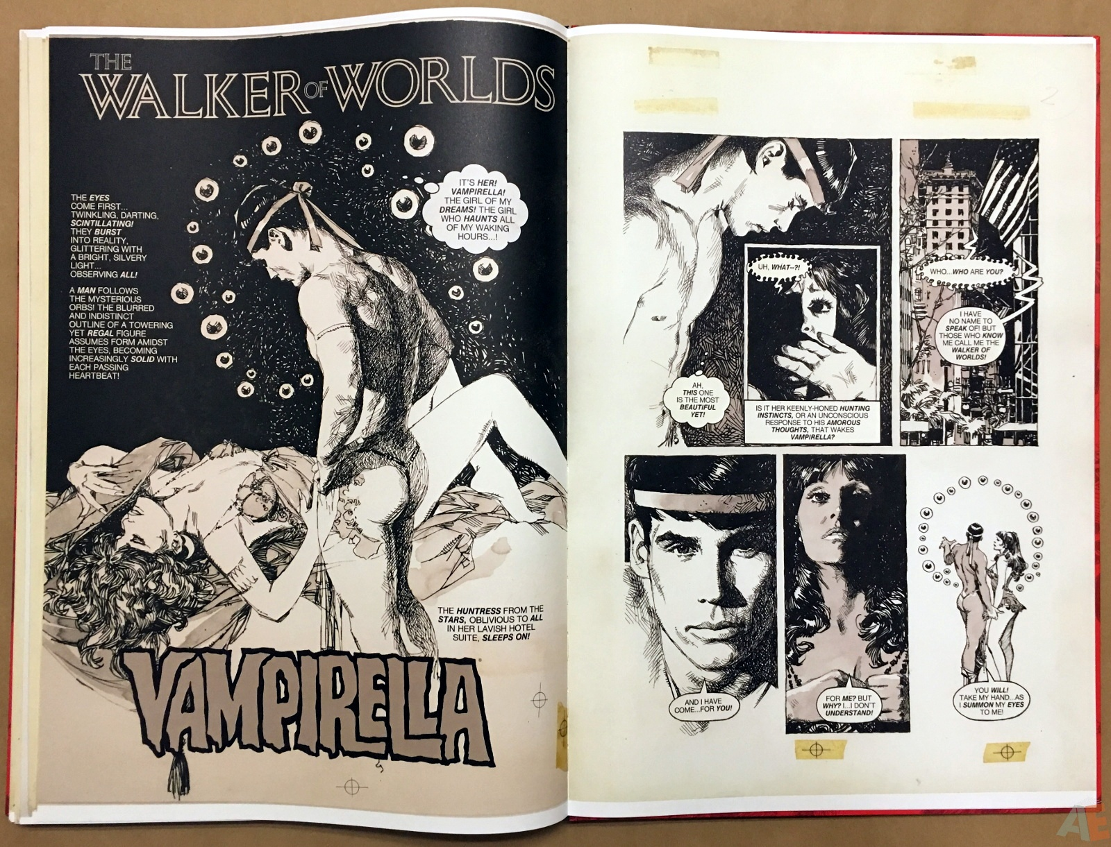 Jose Gonzalez's Vampirella Art Edition Vol 1 52