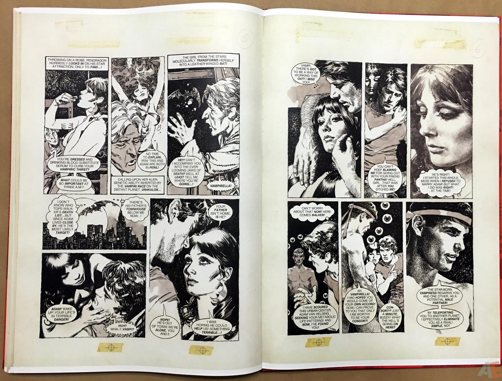 Jose Gonzalez's Vampirella Art Edition Vol 1 54