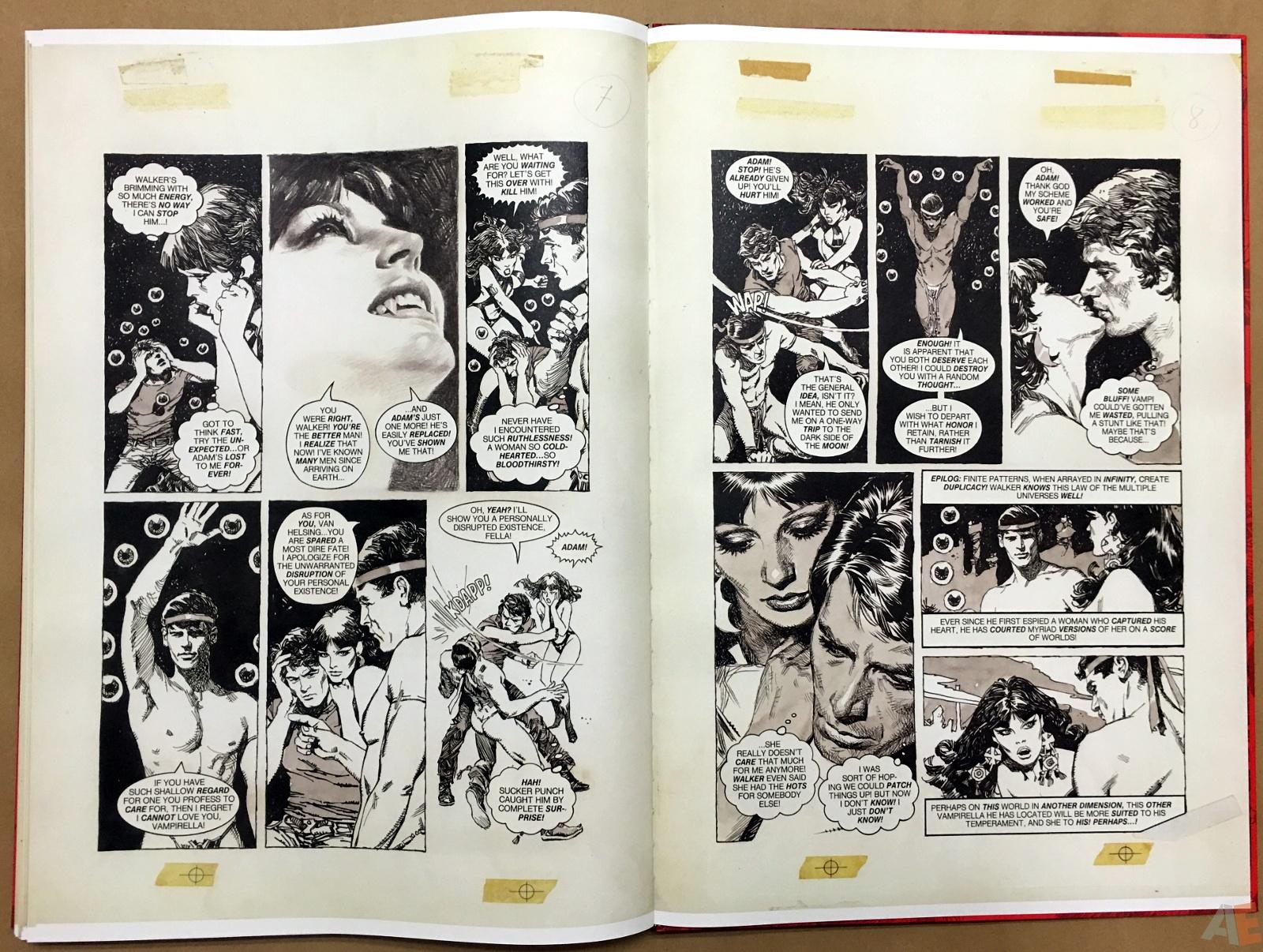 Jose Gonzalez's Vampirella Art Edition Vol 1 56