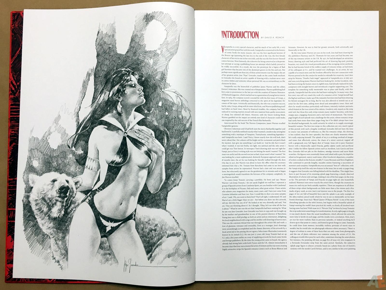 Jose Gonzalez's Vampirella Art Edition Vol 1 8
