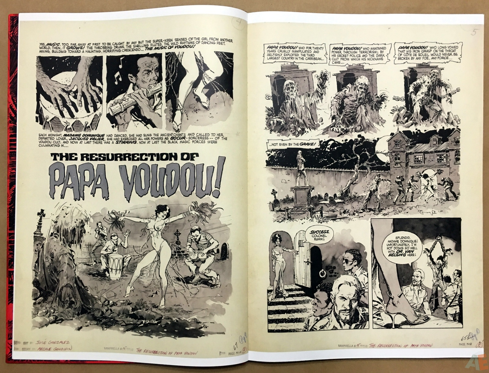Jose Gonzalez's Vampirella Art Edition Vol 1 10