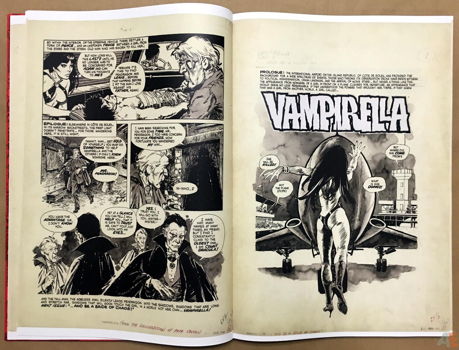 Jose Gonzalez's Vampirella Art Edition Vol 1 12