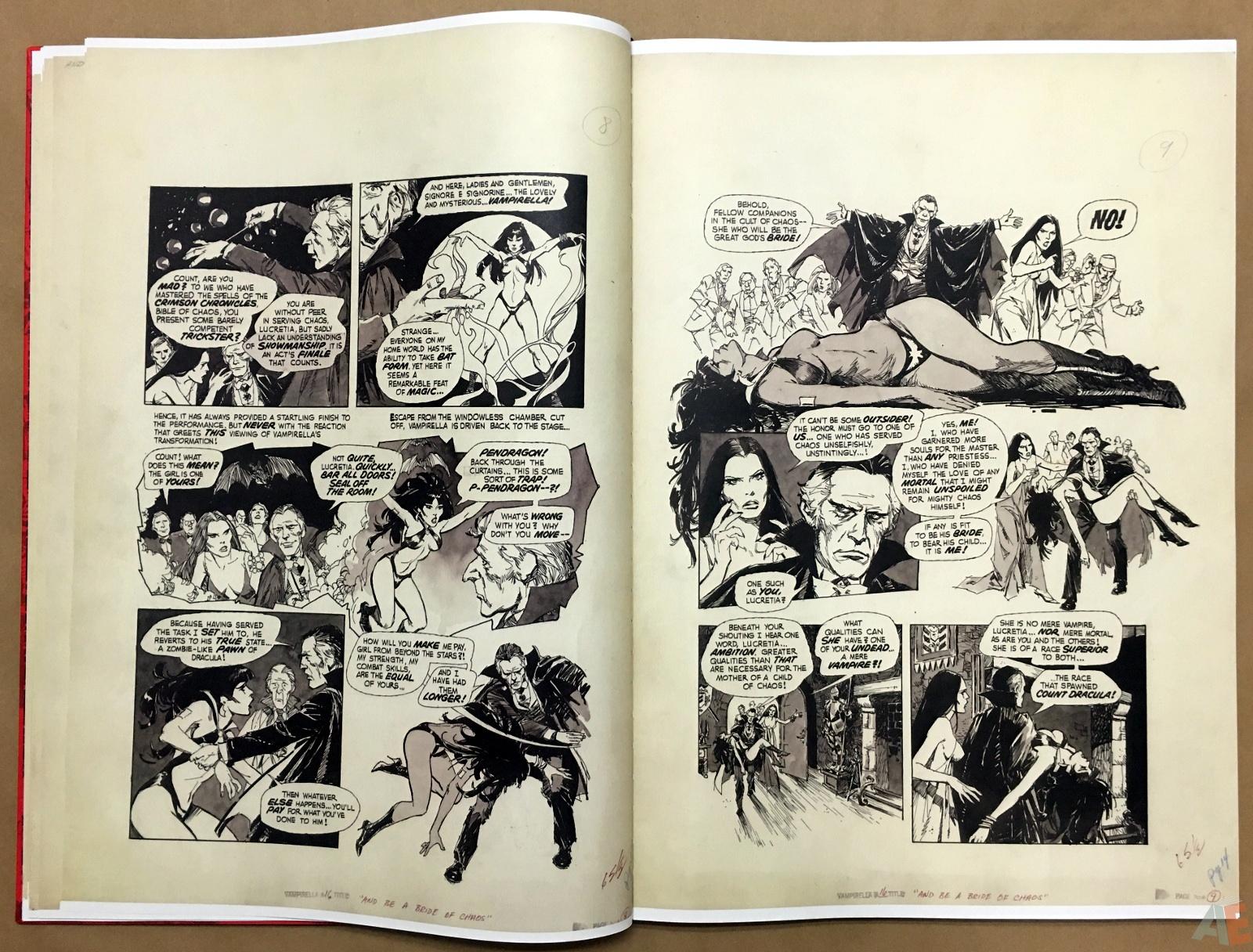 Jose Gonzalez's Vampirella Art Edition Vol 1 14