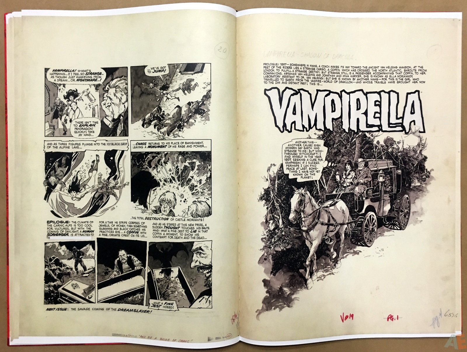 Jose Gonzalez's Vampirella Art Edition Vol 1 16