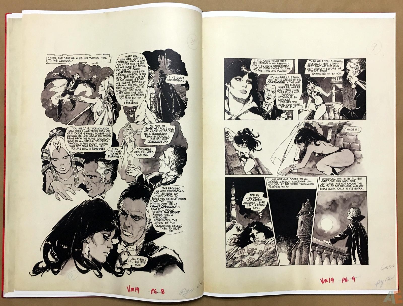 Jose Gonzalez's Vampirella Art Edition Vol 1 20
