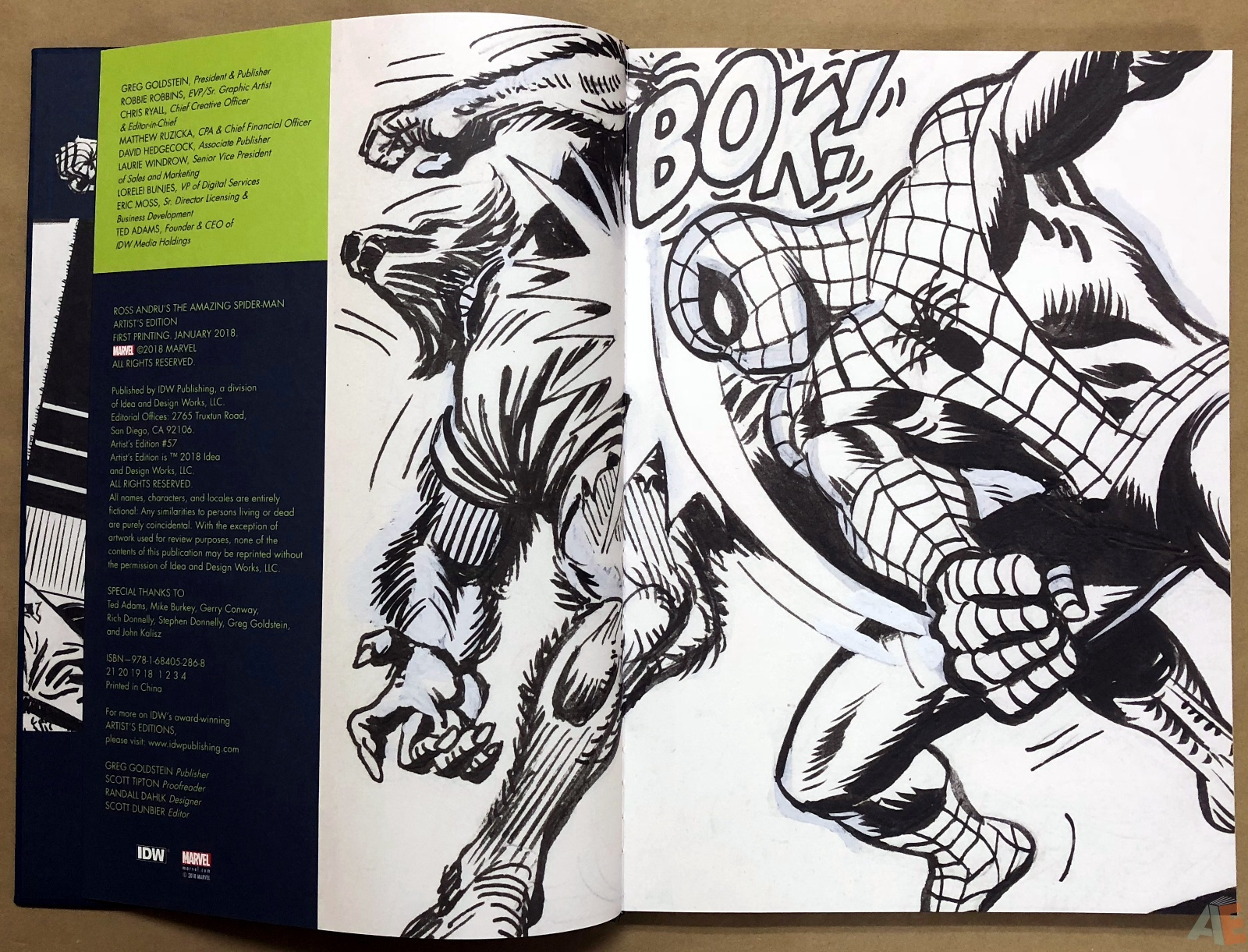 Ross Andru's The Amazing Spider-Man Artist's Edition 4
