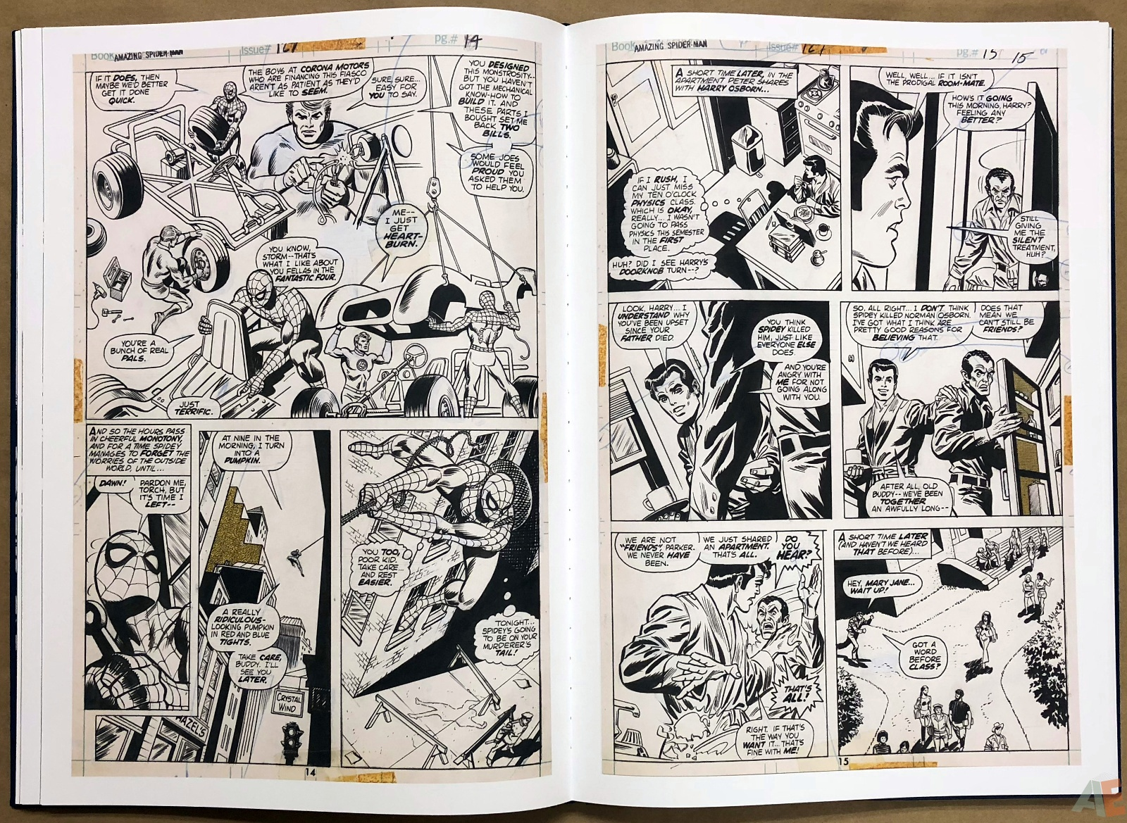 Ross Andru's The Amazing Spider-Man Artist's Edition 22