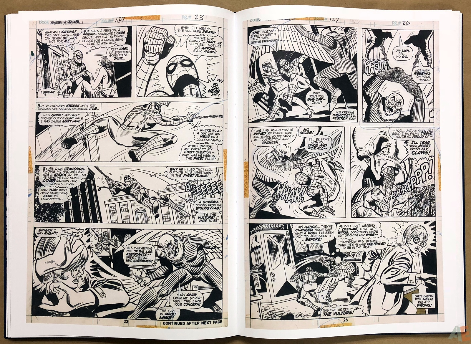 Ross Andru's The Amazing Spider-Man Artist's Edition 24