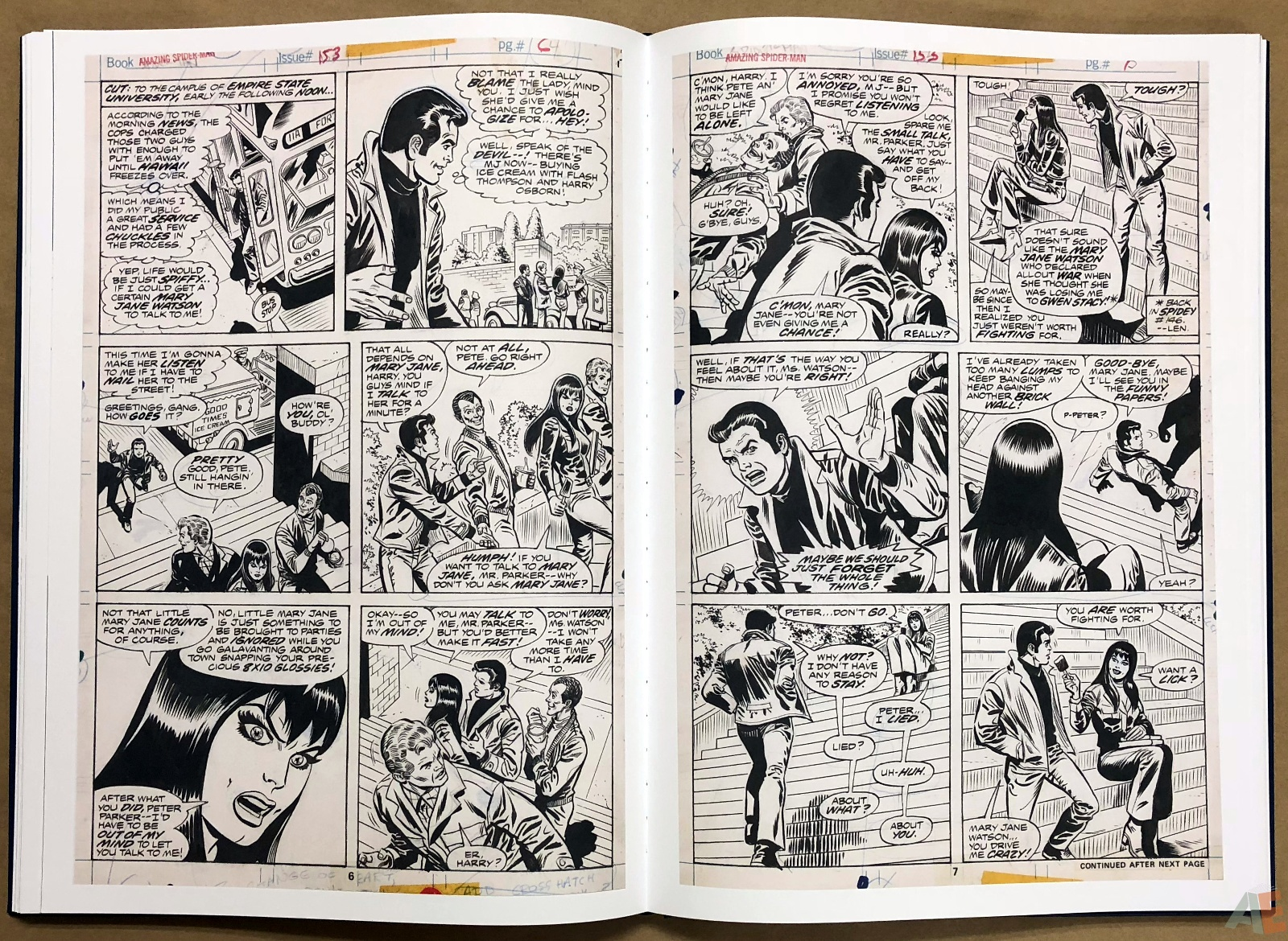 Ross Andru's The Amazing Spider-Man Artist's Edition 26