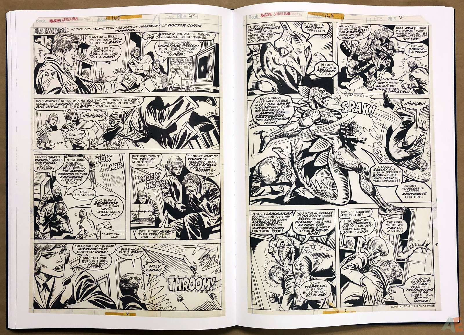 Ross Andru's The Amazing Spider-Man Artist's Edition 30