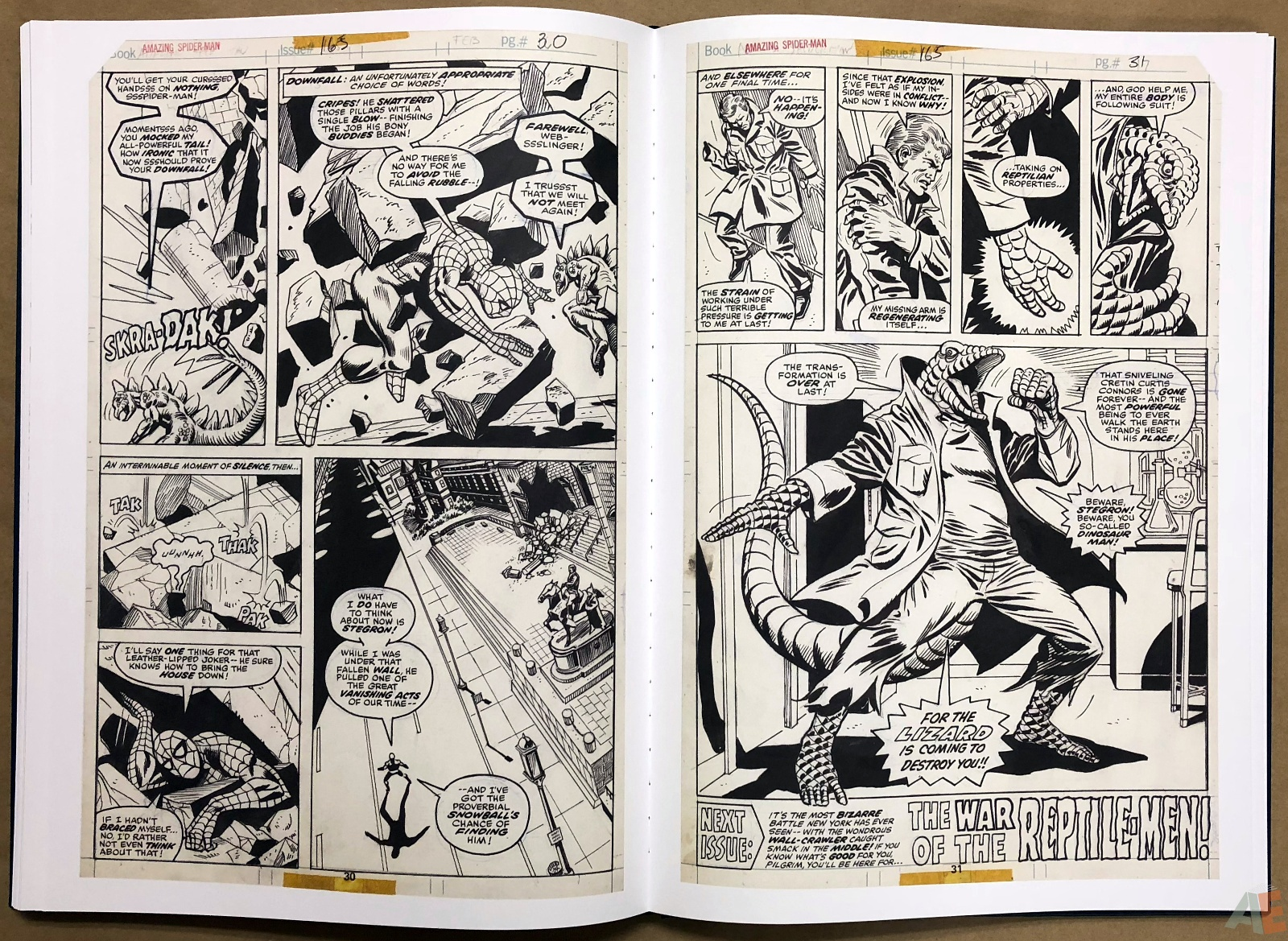Ross Andru's The Amazing Spider-Man Artist's Edition 32
