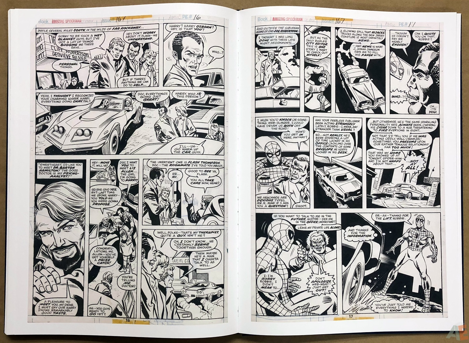 Ross Andru's The Amazing Spider-Man Artist's Edition 36