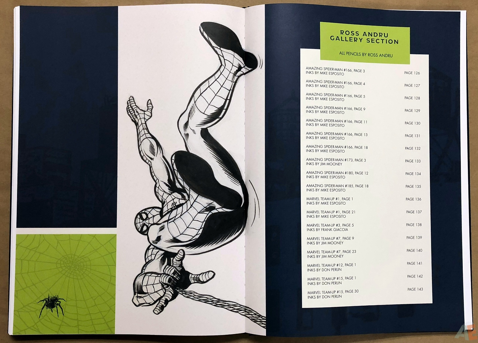 Ross Andru's The Amazing Spider-Man Artist's Edition 38
