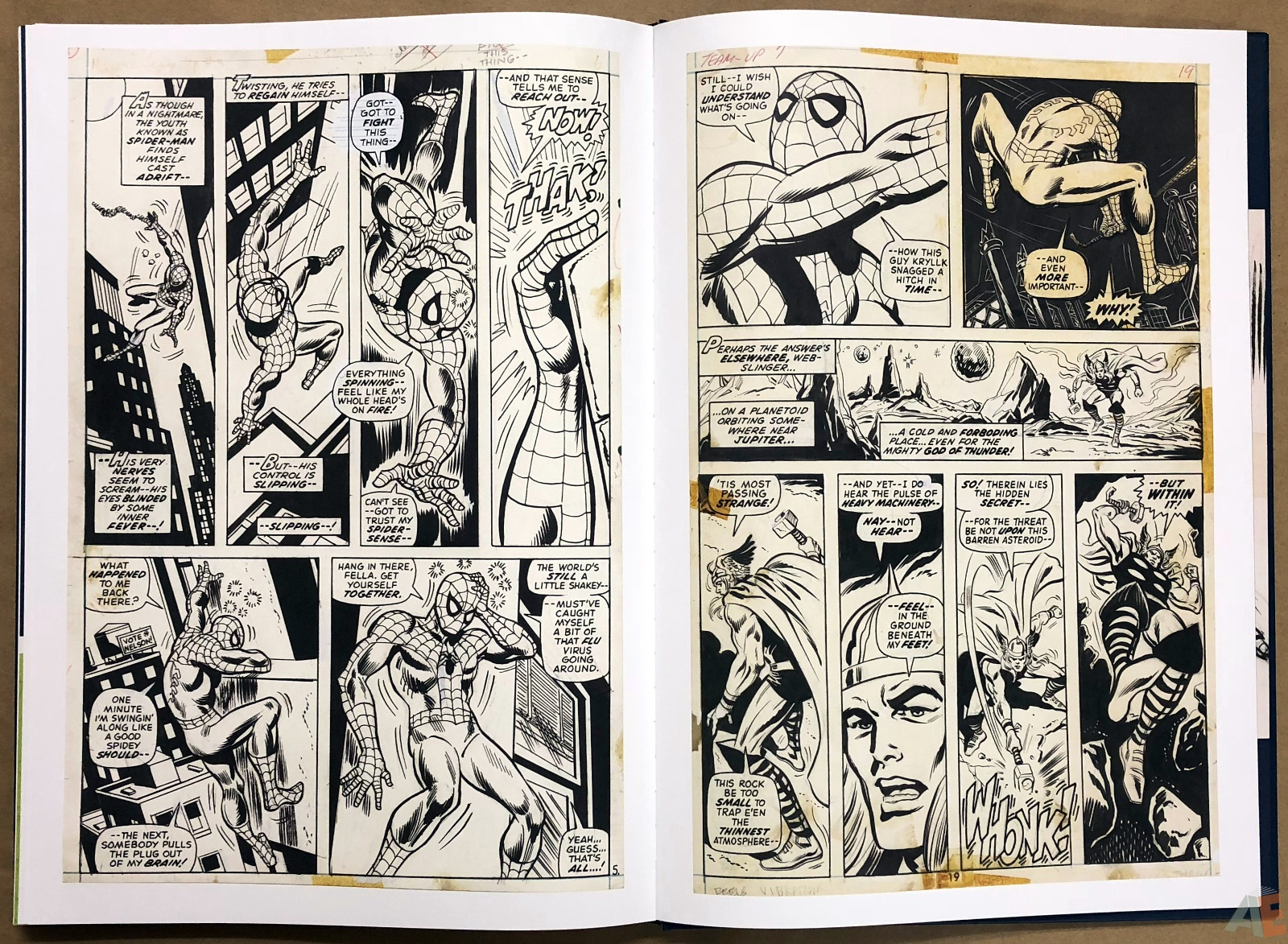 Ross Andru's The Amazing Spider-Man Artist's Edition 44