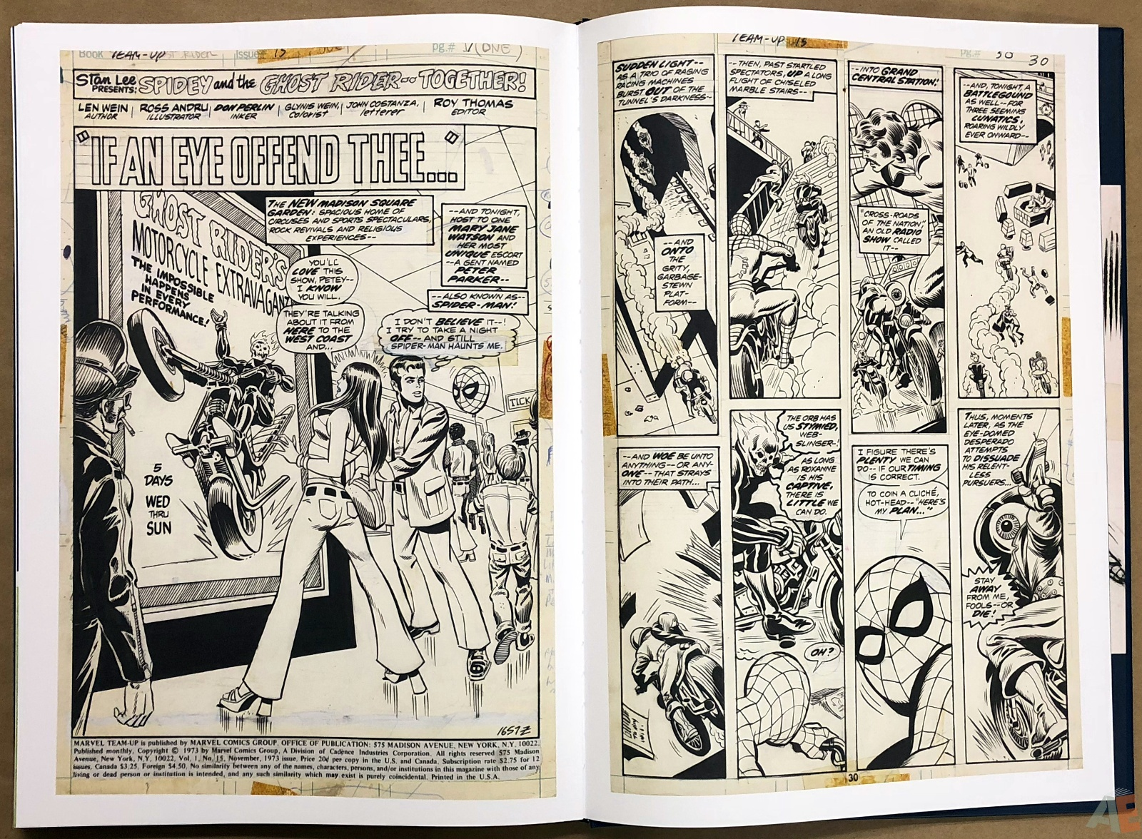 Ross Andru's The Amazing Spider-Man Artist's Edition 46