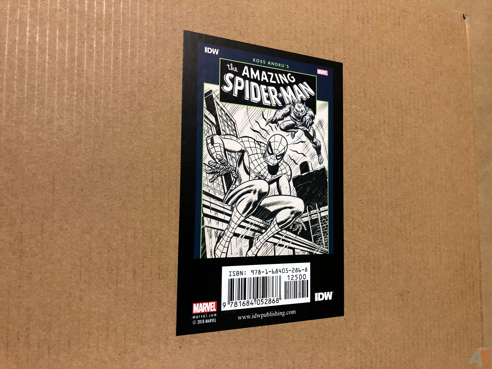 Ross Andru's The Amazing Spider-Man Artist's Edition 50